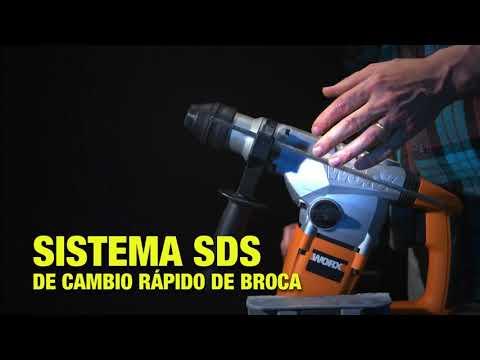 Martillo perforador Worx 1250 W SDS Plus WX333 Worx
