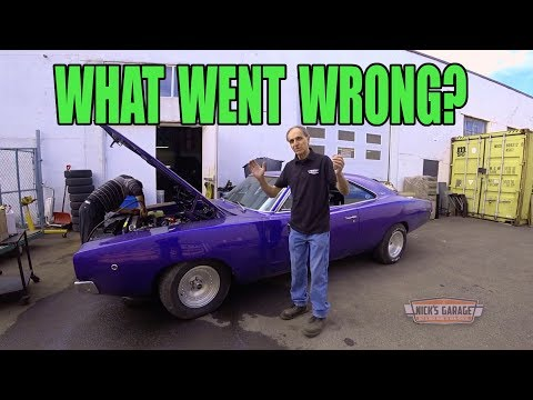 Wicked 1968 Charger Blows Up - What Went Wrong?