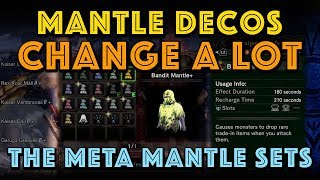 Mantle Decos Change A LOT. Best Mantles Math In MHW Iceborne