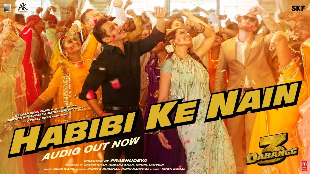 Habibi Ke Nain Hindi lyrics