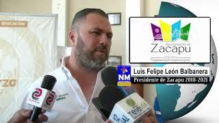 Luis Felipe León Balbanera apoyo a empresas para implementar Programas en apoyo al Medio Ambiente