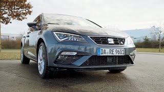 18€ für 400km? - Seat Leon CNG Erdgas - Review, Test, Fahrbericht