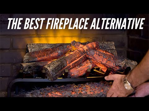 Hampton Bay LED Log Set Review: Electric Fireplace with Heater