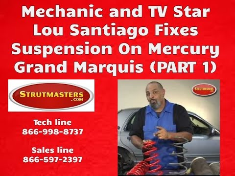 Lou Santiago 1995 Mercury Grand Marquis Strutmasters Strut Conversion Install Part 1 of 3
