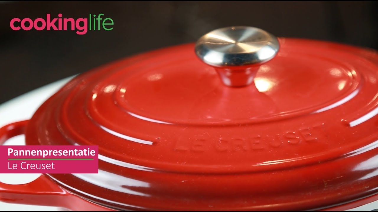 Video - Le Creuset Braadpan Signature Marseille Ø 24 cm
