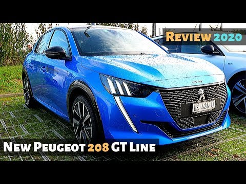 New Peugeot 208 GT Line 2020 Review Interior Exterior