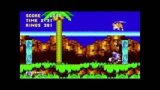 Sonic 3 Complete Isla Angel Acto 1 (Sonic The Hedgehog 1 Sprite)