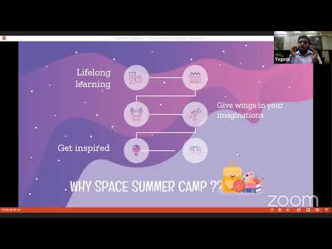 Astronomy and Space Demo Session (Class 2nd - 5th)   Virtual Scholar Camp 2020