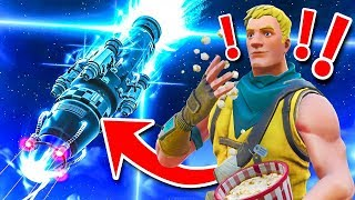 REACTING To The ROCKET LAUNCH *GAMEPLAY* In Fortnite Battle Royale!