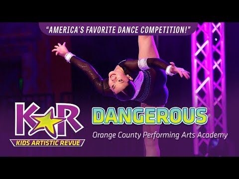 """""""Dangerous"""" from Orange County Performing Arts Academy"""