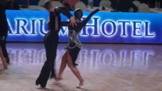 Nikitin- Khurtina, Mazur- Polonskaya,1/64 final, samba.
