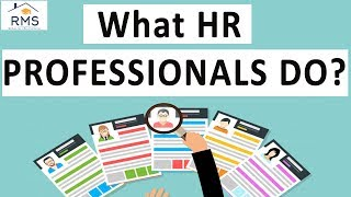 What HR Professionals do? | RMS School | PG HR Courses | TISS-SVE
