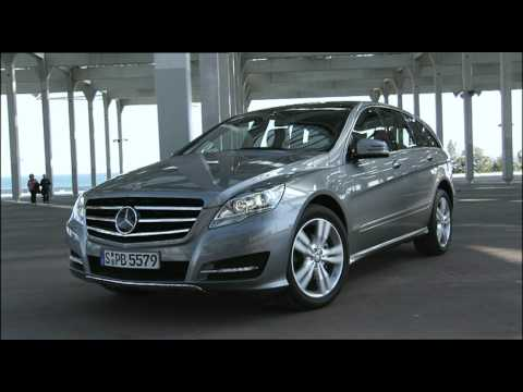 Mercedes benz r class videos watch first drive reviews for New mercedes benz commercial
