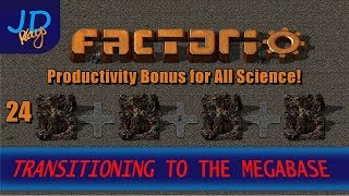 Factorio 0.16 Transitioning To The MEGABASE EP24 Productivity Bonus For All  SCIENCE