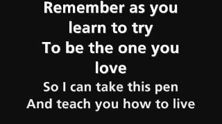 Black veil brides saviour lyrics NEW SONG