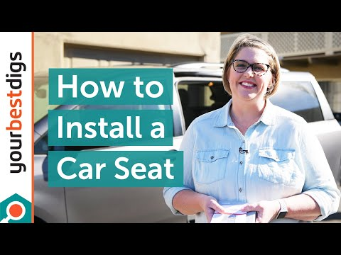 How to Install a Car Seat - YouTube