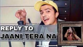 Reply to JAANI TERA NAA(Full Version) - Sunanda Sharma