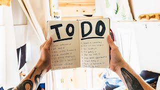 A Not So Lazy Day Of Van Life... CONQUERING OUR TO-DO LIST!