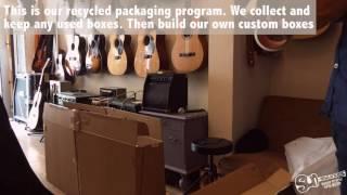Shipping Worldwide - Sun-Sounds Recycling Program