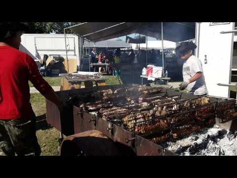 HMONG FESTIVAL IN SAINT PAUL MN. BBQ SALE