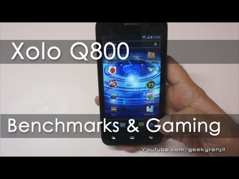 Xolo Q800 Benchmarks & Gaming Review - Geekyranjit