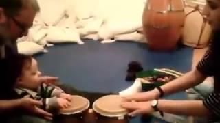 Musicoterapia con bebé con sindrome de Down