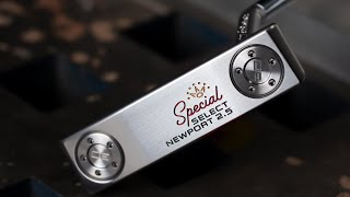 Scotty Cameron Special Select Newport 2.5 Putter-video
