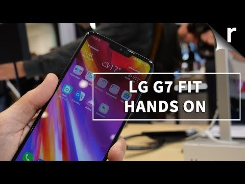 Video over LG G7 Fit