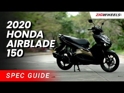 2020 Honda AirBlade 150 Spec Guide | Zigwheels.Ph