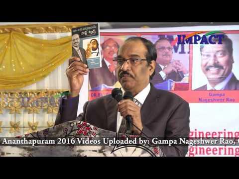 Professionalism |BV Pattabhiram | TELUGU IMPACT Anantapur 2016-Part1