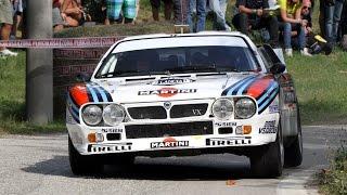 Rally Legend 2014 - 8x Lancia Rally 037!!!