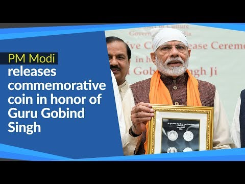 PM Modi releases commemorative coin in honor of Guru Gobind Singh in New Delhi