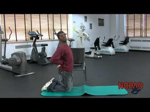 Kneeling Abdominal Stretch