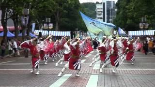 舞華(たまよさこい2012・たま・まち交流館前・流し)