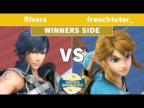 Tristate Showdown - Rivers (Chrom) Vs. Frenchtutor_ (Link) - Winners Side - Smash Ultimate