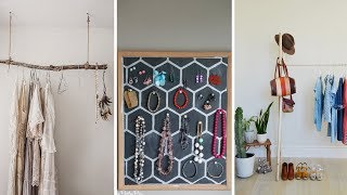 10 DIY Small Bedroom Closet Ideas And Clothing Racks