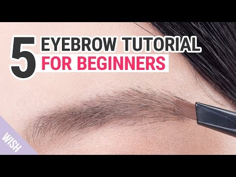 Eyebrow Shaping Tutorial for Beginners | Wishtrend TV