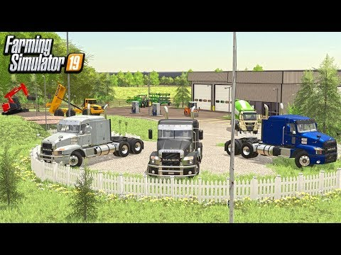 REBUILDING OUR TRUCK DEALERSHIP ($1,000,000) FROM SCRATCH (ROLEPLAY) FARMING SIMULATOR 19