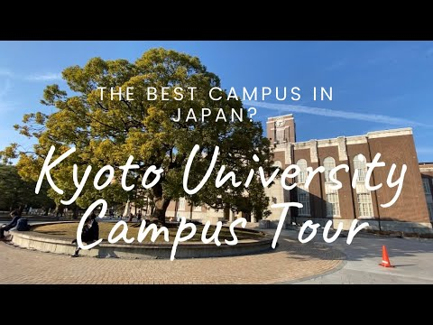 What's inside Kyoto University, Yoshida: Campus Tour (Study in Japan)
