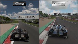 Gran Turismo 6 vs Gran Turismo Sport - Audi R18 TDI (Audi Sport Team Joest)