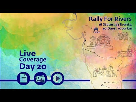 Event Rally for Rivers at Indore