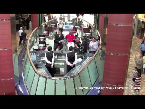 Oasis of the Seas Video of the Rising Tide Bar first moving bar at sea