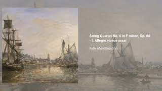 String Quartet no. 6 in Fm, Op. 80