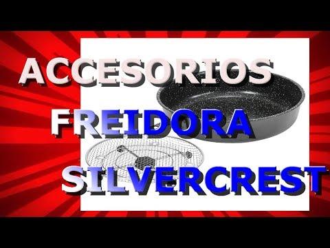 Accesorios para Freidora Silvercrest SHFR 1450 A1 (Lidl), unboxing y prueba