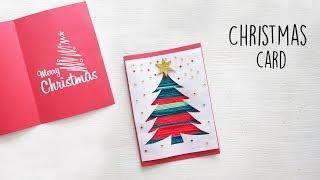 DIY Christmas Card   DIY Holiday Card Ideas