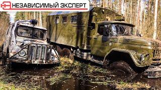 Газ Jeep и ЗИЛ 131 Кто кого?