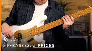 5 Precision Basses, 5 Prices: Whats The Difference? | Reverb