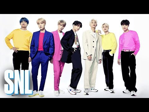 BTS: Boy with Luv (Live) - SNL
