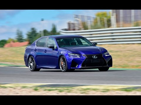 2016 Lexus GS F Review - First Drive