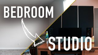 Transform Your BEDROOM Into a STUDIO (On a BUDGET) | ADAM Audio & Westlake Pro